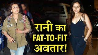 Rani mukherjee shocking transformation post pregnancy !