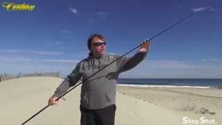 Century fishing rods Sling Shot series Advanced fishing USA long distance casting big game fishing