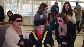 تكريم الفنانة نادية لطفى | صور نجوم التمثيل مع الفنانة نادية لطفى وحب الهام شاهين لها