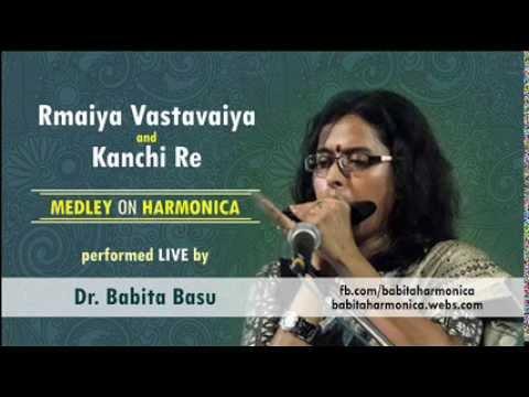 Xxx Mp4 Ramaiya Kanchi Re Medley LIVE On Harmonica By Dr Babita Basu 3gp Sex