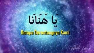 Ya Hanana - Habib Syech (Full with Malay Lyrics)
