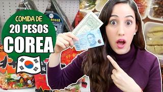 COMIENDO CON 20 PESOS (1 dólar) en COREA + ¿Cuanto cuesta vivir en Corea? | Hablemos de Doramas