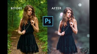 Professional Color Correction | Cinematic Color Grading Tutorial Photoshop | Photoshop CS6 Tutorial