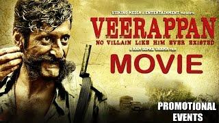 Veerappan Movie (2016) | Sandeep Bharadwaj, Usha Jadhav, Zarine Khan | Promotional Events