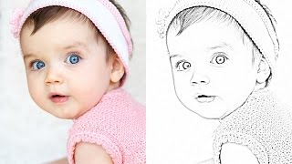How to Turn Images into PENCIL DRAWINGS using GIMP | Photoshop Alternative | #18