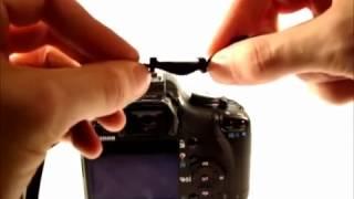 كيف اركب حبل تعليقة كاميرا كانون او غيرها