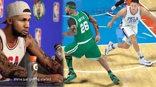 NBA 2k17 MyCAREER - Put Ben Simmons on Skates! Defending Justice! Ep. 36
