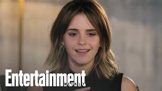 Emma Watson Burst Into Tears When She First Saw Hermione In