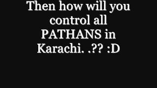 Baloch and pathan in karachi.