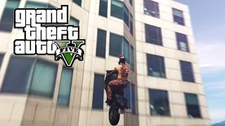 GTA 5 First Person - Next Gen BMX Bike Stunts Montage - Stunt Compilation