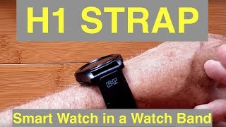 H1 Embedded Sports Watch Smart Strap: Unboxing & Review