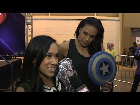 Marvel at WrestleMania XXX: AJ Lee & Tamina