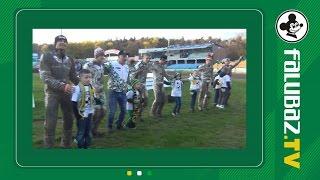 Podziękowania po meczu z ROW Rybnik (24.04.16)