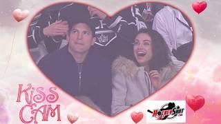 Kiss Cam - Mila Kunis & Ashton Kutcher