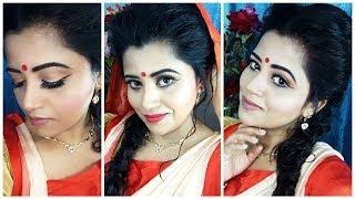 Festive Makeup 2017    Durga puja    Navratri Makeup Tutorial