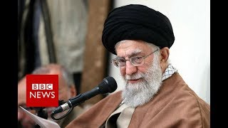 Iran's ruler blames unrest on 'enemies' - BBC News