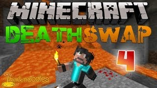 Minecraft : Death Swap - Game 4 - A Trap Without Lava!