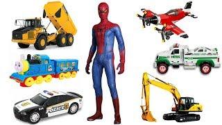 Learning Street Vehicles Names for Kids | Cars, Trucks & Transport Toys Vehicles for Children