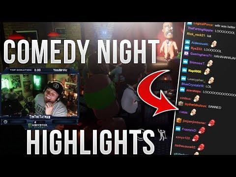 Timthetatman Comedy Night Highlights