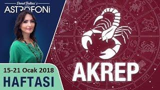 Akrep Burcu, haftalık burç ve astroloji yorumu, 15-21 Ocak 2018. Astrolog Demet Baltacı