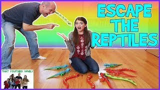ESCAPE THE REPTILES CHALLENGE / That YouTub3 Family