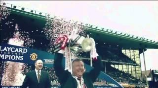 Alex Ferguson tribute - Sky - Manchester United v Swansea