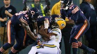 NFL ILLEGAL Helmet to Helmet Hits
