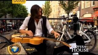 World Amazing Blues Slide Guitar Street Musician