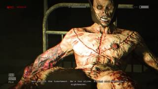 Outlast full chase scene/torture scene + Trager's death fully observed and cinematic