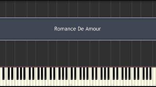 Romance De Amour (Piano Tutorial)