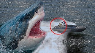 7 Real Megalodon Sightings Caught On Camera