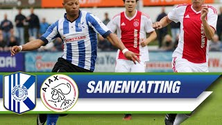 Samenvatting Quick Boys - Ajax Amateurs