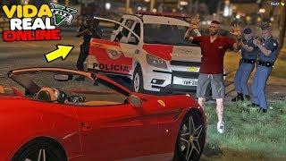 GTA V - VIDA REAL   FUI PRESO POR ROUBO DE CARRO! #627
