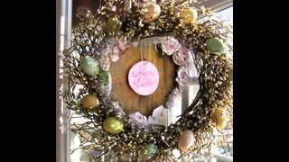 Easter wreaths decor ideas