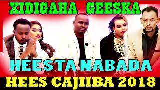 XIDIGAHA GEESKA 2018 HEES  QIIRO AH ( NABADA )  OFFICIAL AUDIO SONG  BY MAAHIR MEDIA PRO