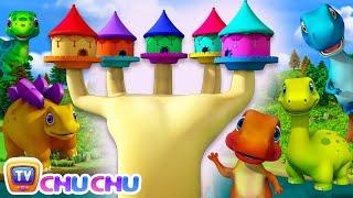 Learn Dinosaur Names with Dino Finger Family - 3D Nursery Rhymes & Baby Songs by ChuChu TV