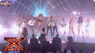 It's a HUGE past contestant mash-up! - Live Final Week 10 - The X Factor 2013