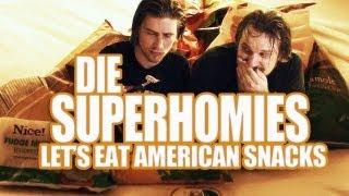 Die Superhomies in den USA - Let's Eat American Snacks (mit Gronkh und Sarazar)