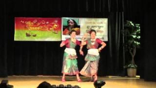 Jhum Jhum konna nacho (Swagoto dey)- Duet dance performance by Snigdha & Prapti