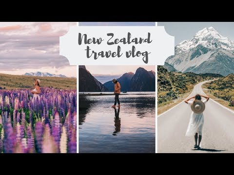 NEW ZEALAND TRAVEL VLOG A week spent exploring the best of the South Island Haylsa & Kyle