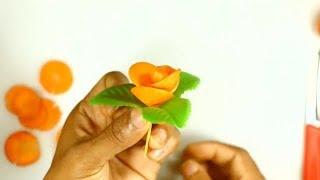 Fruit Carving  - Cara Menghias Wortel
