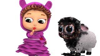 Baa Baa Black Sheep | Colors | Educational