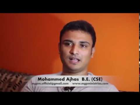Young Indian sunni Muslim encounter with Lord Jesus Christ....Beautiful Testimony