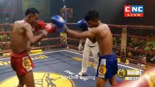 អេលិត ចំរើន(Cam) Vs ដាំងកាន់វ៉ាន (Thai), Khmer Boxing 2019
