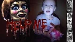 I Mailed Myself to Annabelle in a Box and IT WORKED! Challenge GONE WRONG!!! Called Her No Answer