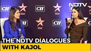 The NDTV Dialogues With Kajol