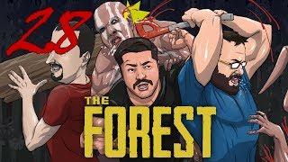 The Forest - Ep. 28 - REDECORAR ESTE DESASTRE - con Óscar y Tonacho