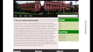 Web Development / Wordpress Bangla Tutorial- Part 7 (Make Your HTML Template To Wordpress)