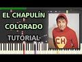 El Chapulín Colorado   Synthesia Piano Tutorial