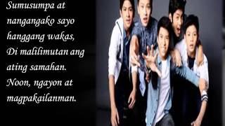 Pag Kasama Ka – Gimme 5 Lyrics